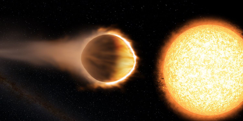 Ученые отыскали  светящуюся воду ватмосфере экзопланеты