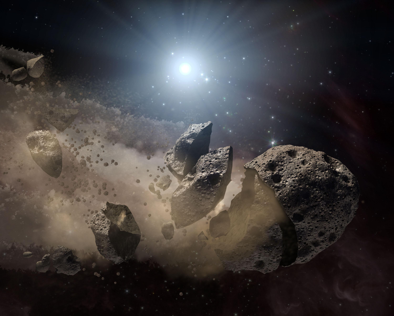 При помощи  самых старых астероидов учёные изучат раннюю Солнечную систему