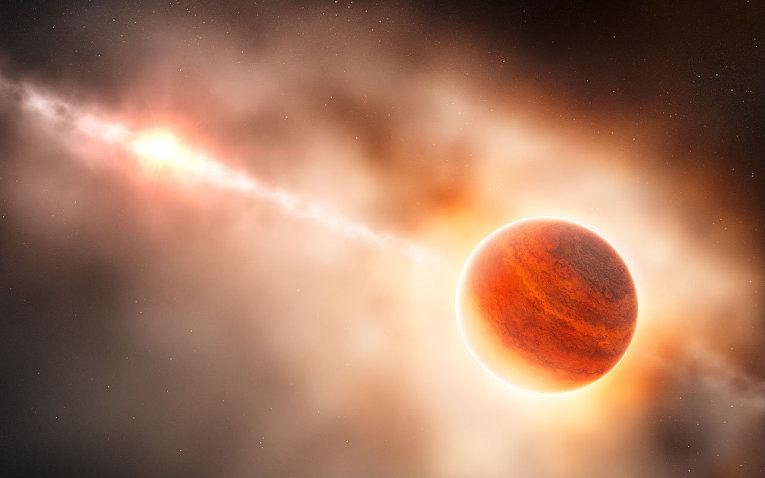 Русский  телескоп нашел  экзопланету размером сЮпитер