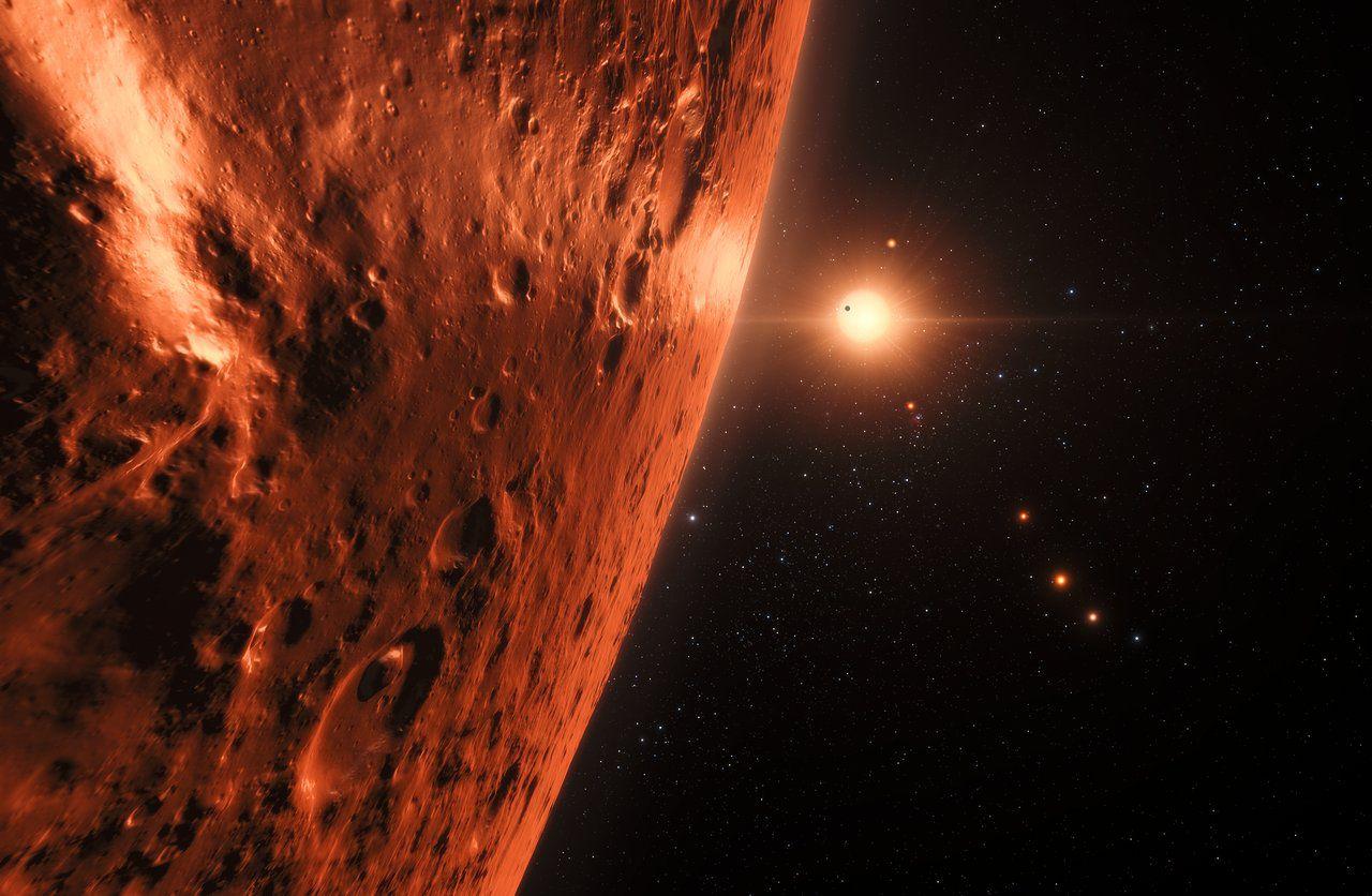 Океаны сжидкой водой найдены на 7-ми экзопланетах