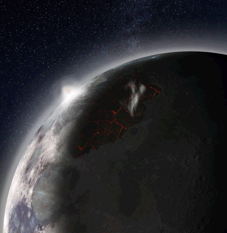 Учёные NASA узнали, что впрошлом наЛуне была атмосфера