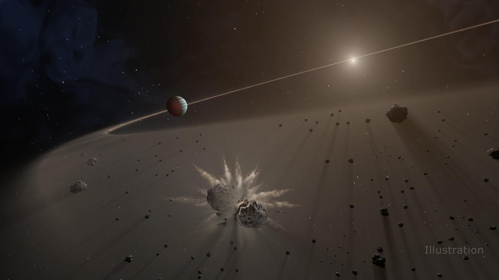 Ученые будут искать новые экзопланеты по пылевым дискам в звездных системах