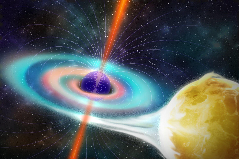 Ученые: Магнетизм темных дыр оказался значительно слабее, чем считалось раннее