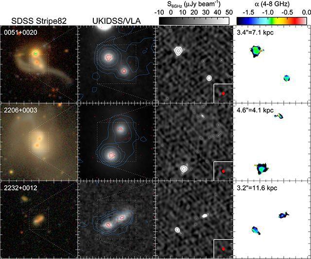 Какую роль играют сверхмассивные черные дыры при объединении галактик? - ASTRONEWS.ru