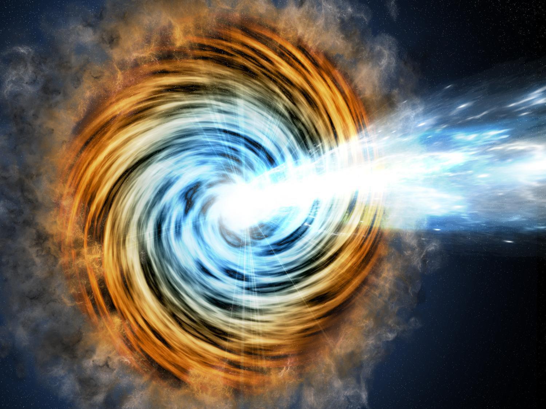 Учёные NASA: монстры-блазары могут поглотить Вселенную