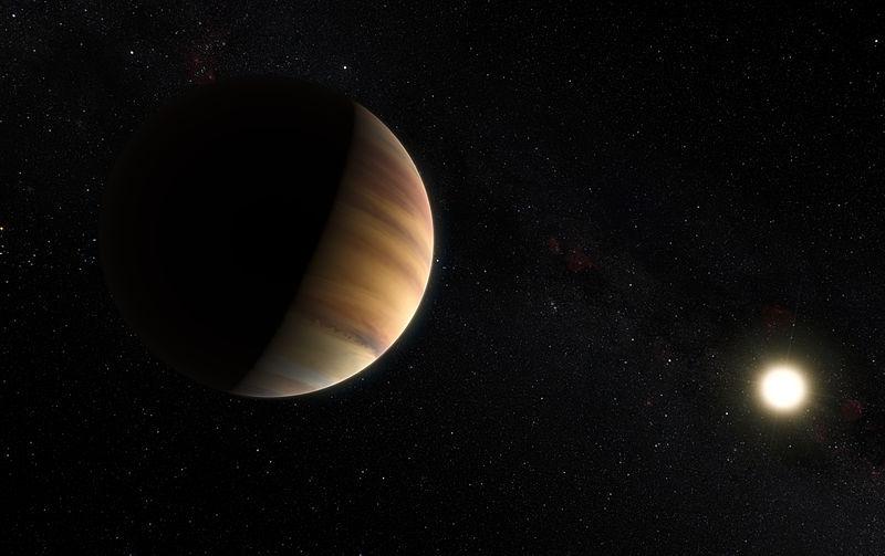Ватмосфере экзопланеты 51 Пегаса b найдена вода