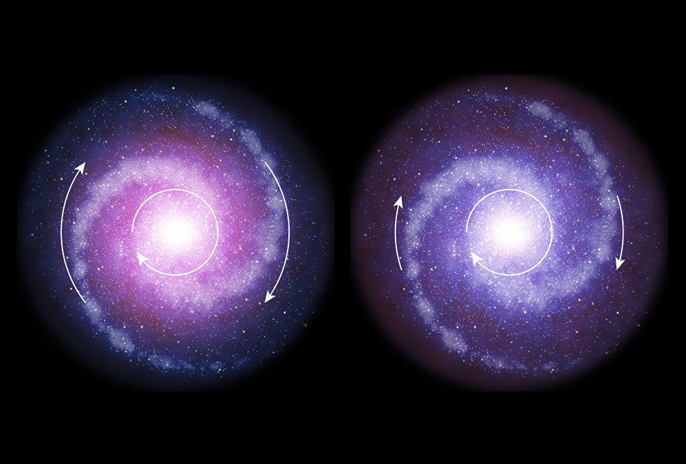 Ученые поведали, как возрастает количество черной материи воВселенной