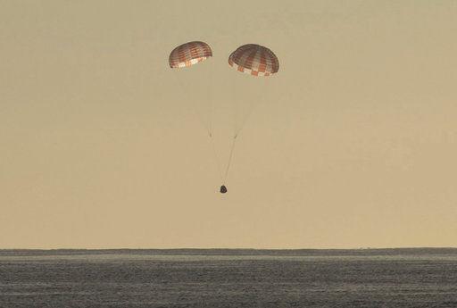 Корабль Dragon благополучно доставил наЗемлю груз сМКС