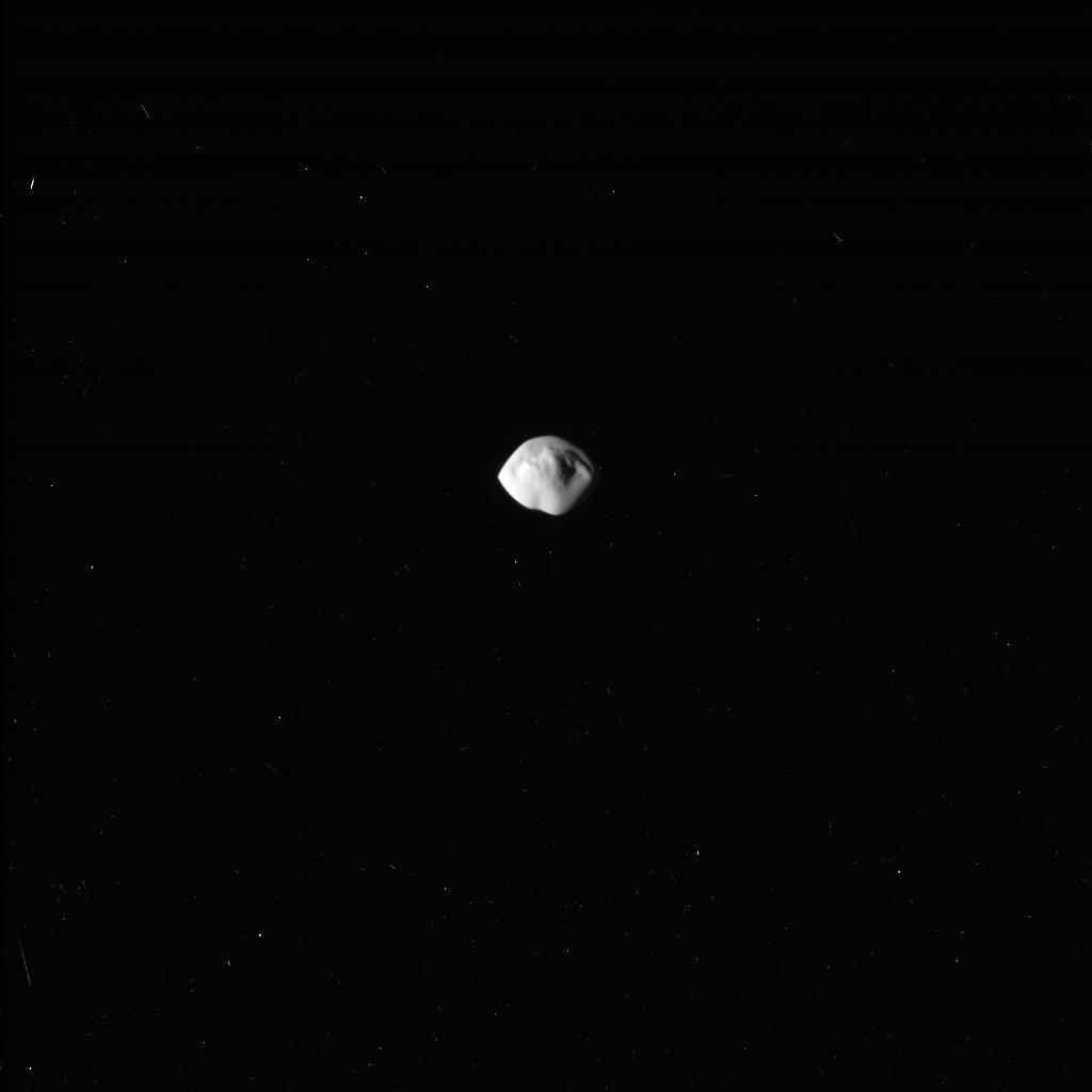 NASA опубликовало спутника Сатурна Атлас