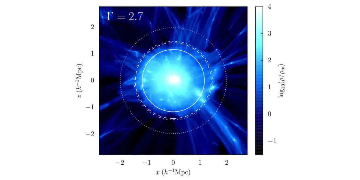Исследователям удалось получить первое фото черной материи