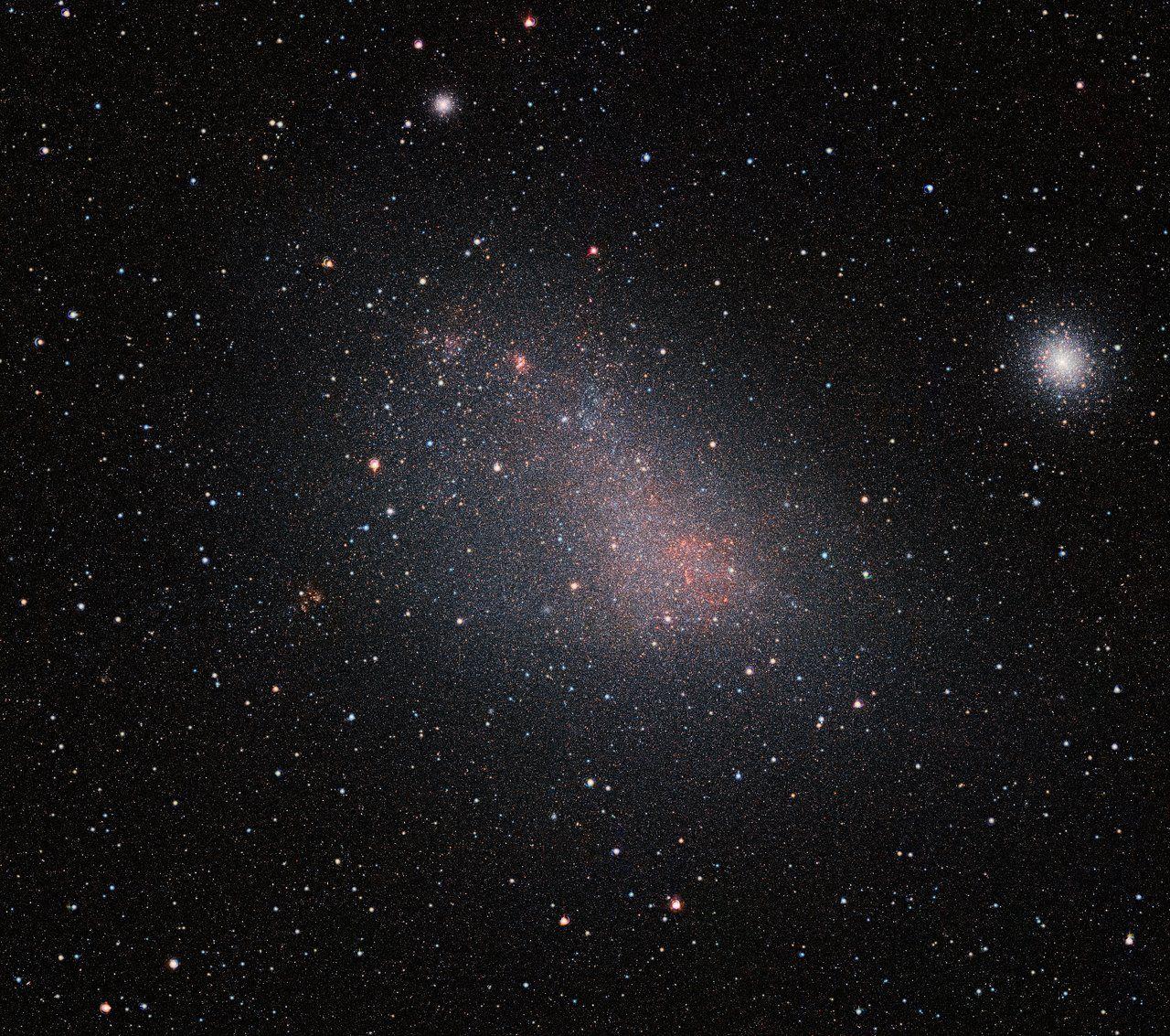 Астрономы изучили пылевую завесу Малого Магелланового облака