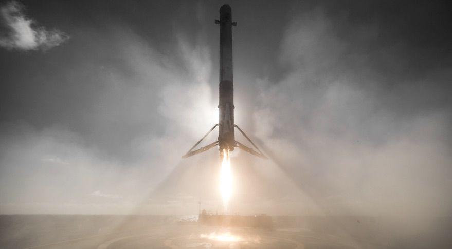 Spacex удачно запустила ракету Falcon 9