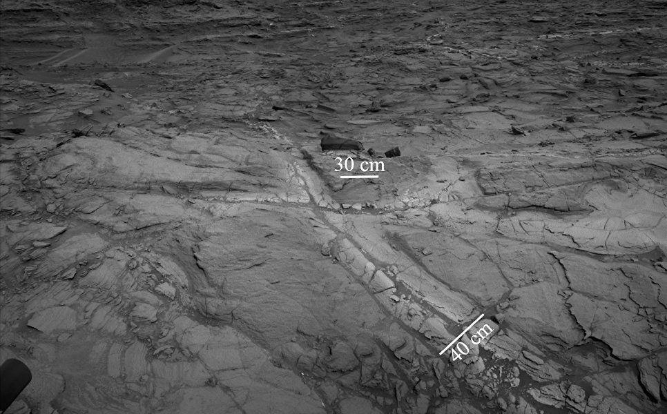 Условия для жизни наМарсе сохранялись даже после исчезновения воды