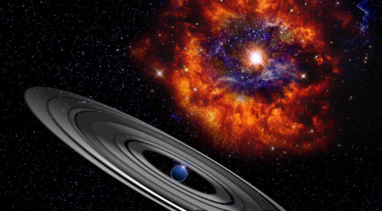 Причину загадочных затмений звезды PDS 110 назвали ученые
