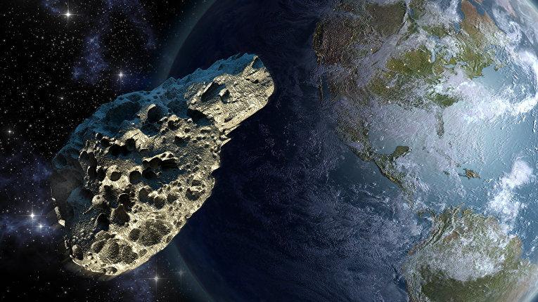 Ученые NASA обнаружили 10 рискованных для Земли астероидов