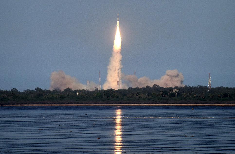 Индия произвела успешный запуск ракеты с 31 спутником