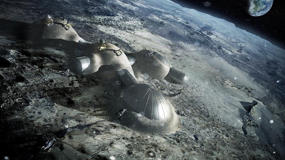 ВКанаде создают саморазмножающийся 3D-принтер для освоения Луны иМарса