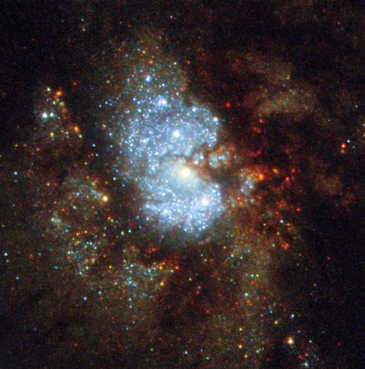 nasa finds blue star - HD1092×1105