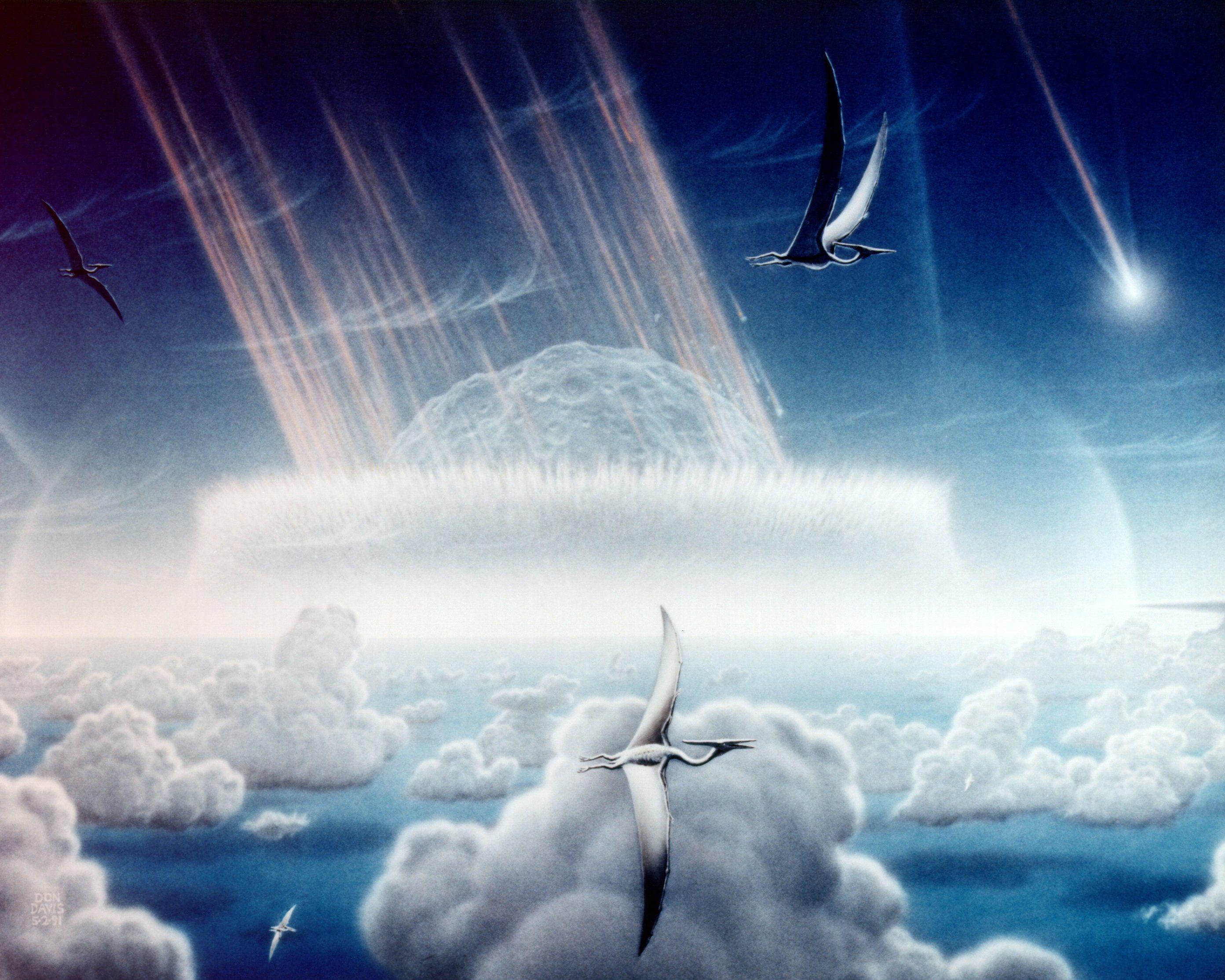 Чиксулубский мететорит разогревал планету в течение 100 000 лет, выяснили ученые