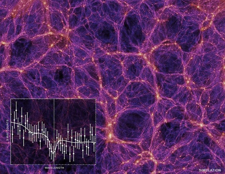 Где недостающая треть материи Вселенной
